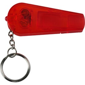 Whistle Key Light Imprinted with Your Logo