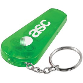 Whistle Keychain Light with Your Logo