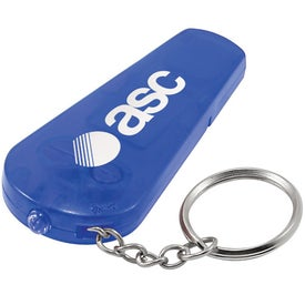 Whistle Keychain Light Branded with Your Logo