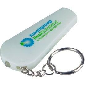 Whistle Key Light with Digital Imprint