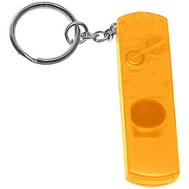 Whistle, Light, and Compass Key Chain for Marketing