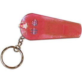 Whistle/Light Key Chain for your School