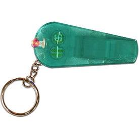 Company Whistle/Light Key Chain
