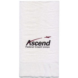 White Dinner Napkins (3-Ply)