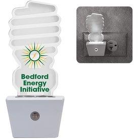 White LED Nightlight (CFL Light Bulb)