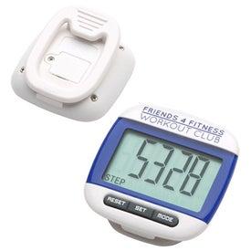 Customized Widescreen Walker Pedometer