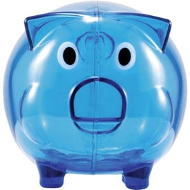 Wilbur Piggy Bank with Coin Slot for Your Organization