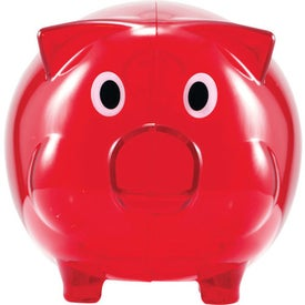 Promotional Wilbur Piggy Bank with Coin Slot