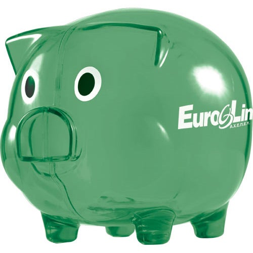 Wilbur Piggy Bank with Coin Slot
