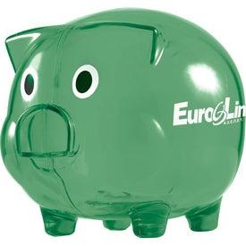 Wilbur Piggy Bank with Coin Slot