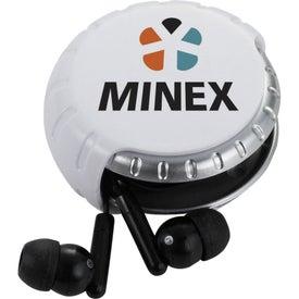 Custom Windi Earbuds and Cord Case