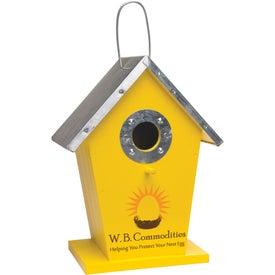 Company Wood Birdhouse