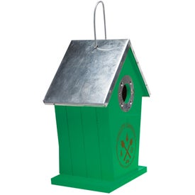 Wood Birdhouse for Your Company