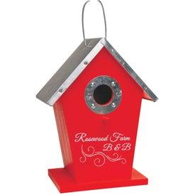 Logo Wood Birdhouse