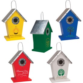 Promotional Wood Birdhouse