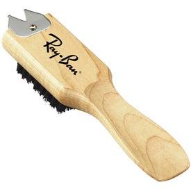 Monogrammed Wooden Multi-Purpose Brush