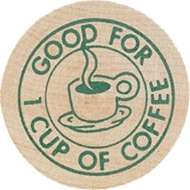 Logo Wooden Nickel #2