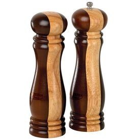 Wooden Salt and Pepper Mill Set