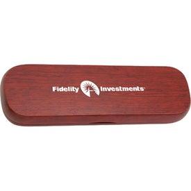 Promotional Wooden Single Pen Case