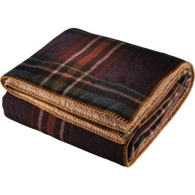 Customized Woolrich Hickory Run Throw