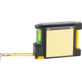 Customized WorkMate 3-in-1 Tape Measure with Pad Pen and Level