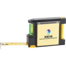 WorkMate 3-in-1 Tape Measure with Pad Pen and Level Branded with Your Logo
