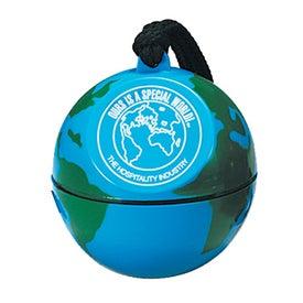 World Globe Design with Poncho