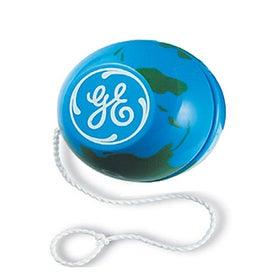 World Globe Design Yo-Yo