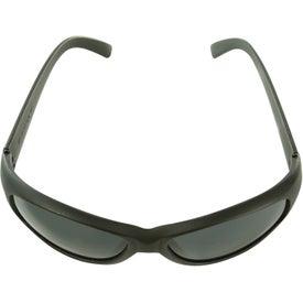 Imprinted Wrap-Around Sunglasses