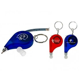 Write-n-Measure Keychain for Your Company