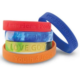 Silicone Wristband Debossed (Youth)
