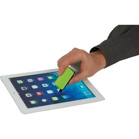 Zedd Mobile Stand and Stylus Screen Cleaner for Advertising
