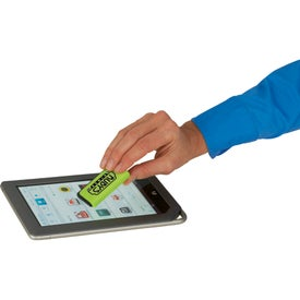 Zedd Mobile Stand and Stylus Screen Cleaner with Your Slogan