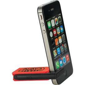 Imprinted Zedd Mobile Stand and Stylus Screen Cleaner