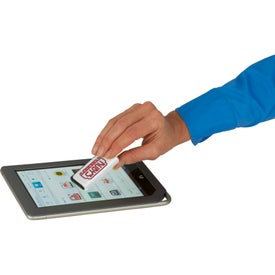Zedd Mobile Stand and Stylus Screen Cleaner for Marketing