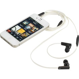 Logo Zeus Ear Buds With Music Control