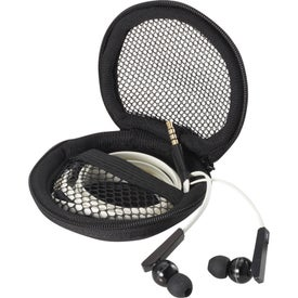 Monogrammed Zeus Ear Buds With Music Control