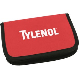 Zipper Case First Aid Kit for Promotion