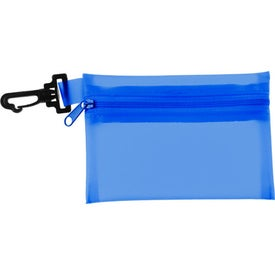 Zippered Pouch First Aid Kit Branded with Your Logo