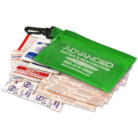 Company Zippered Pouch First Aid Kit