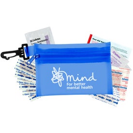 Promotional Zippered Pouch First Aid Kit