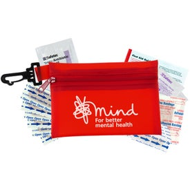 Custom Zippered Pouch First Aid Kit