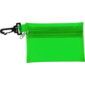 Promotional Zippered Pouch Sun Kit