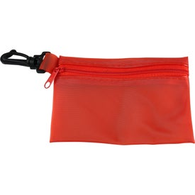 Customized Zippered Pouch Sun Kit