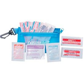 Zipper Tote with Clip Deluxe First Aid Kit