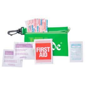 Zipper Tote with Clip Express First Aid Kit