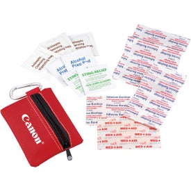 Promotional Zippered First Aid Pouch