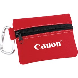 Zippered First Aid Pouch Printed with Your Logo