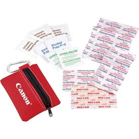 Zippered First Aid Pouch Giveaways