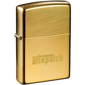 Zippo Windproof Lighter (High Polish Brass)
